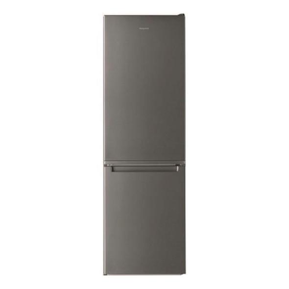 Hotpoint, H3T811IOX1, 338 Litre Freestanding Fridge Freezer, Stainless Steel