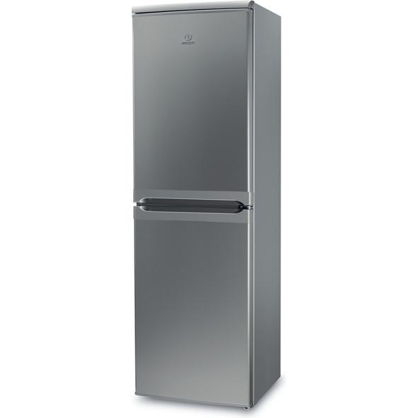 Indesit, IBD5517S, Fridge Freezer, Silver