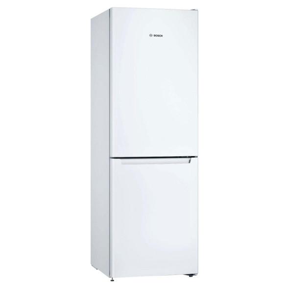 Bosch, KGN33NWEAG, Serie | 2 Free-standing Fridge-freezer With Freezer At Bottom, White