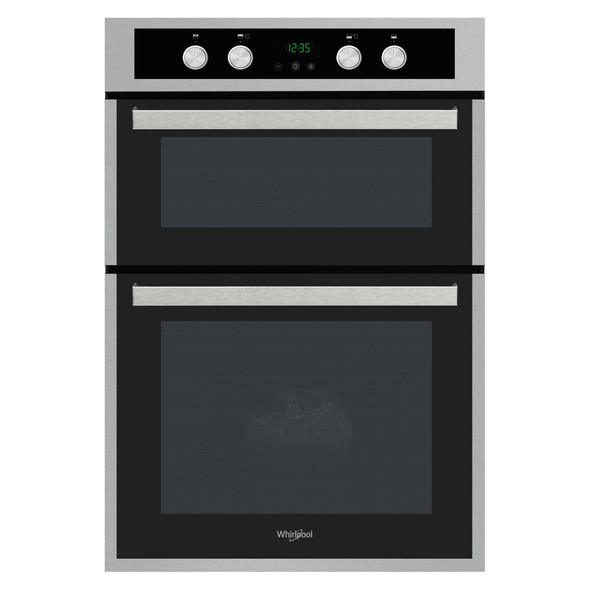Whirlpool, AKL309/IX, Built In Double Oven, Silver