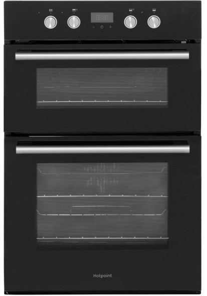 Hotpoint, DD2844CBL, Electric Double Catalytic Multifunction Oven , Black