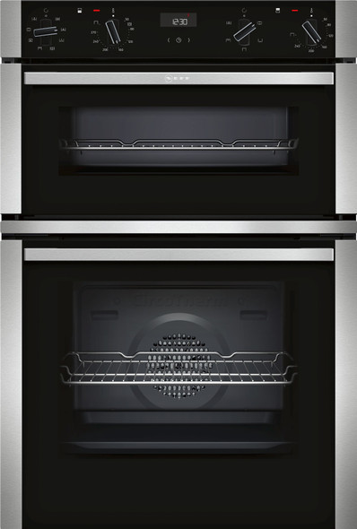 Neff, U1ACE2HN0B, Built-in Oven With Circotherm, Silver/ Black