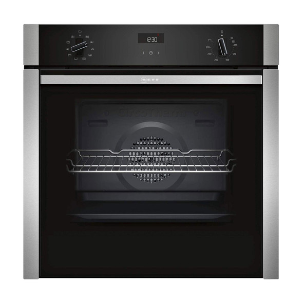 Neff, B3ACE4HNOB, Built-in Single Oven, Stainless Steel