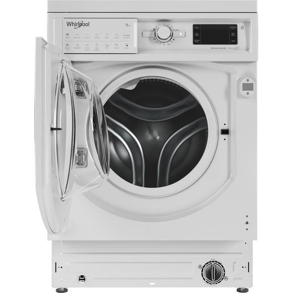 Whirlpool, BIWMWG91484UK, 9kg Built-in Washing Machine, White