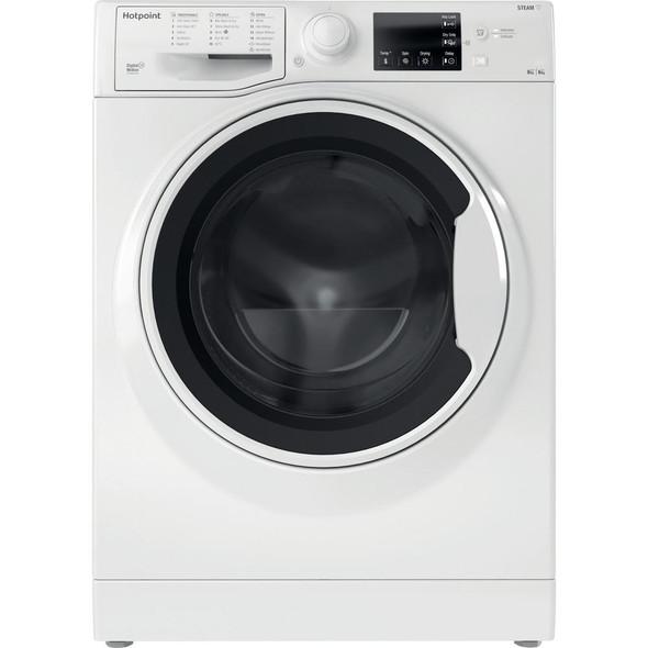 Hotpoint, RDG8643WWUK, Ultima 8+6 Kg 1400 Spin Washer Dryer, White