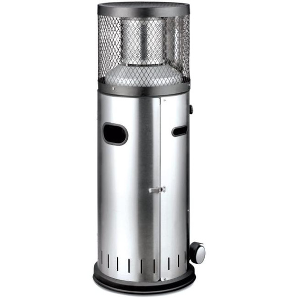 Enders, 054594, Polo 2 Gas Patio Heater, Stainless Steel