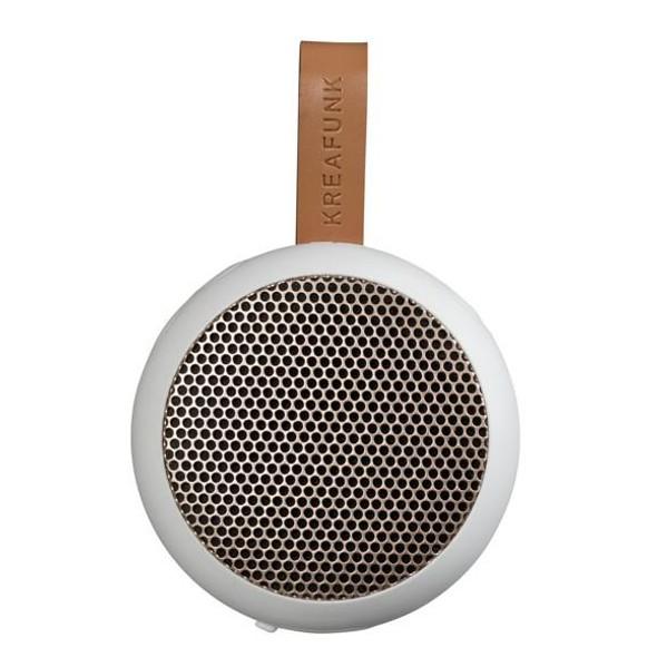 Kreafunk, KFWT31, aGo Bluetooth Speaker, White