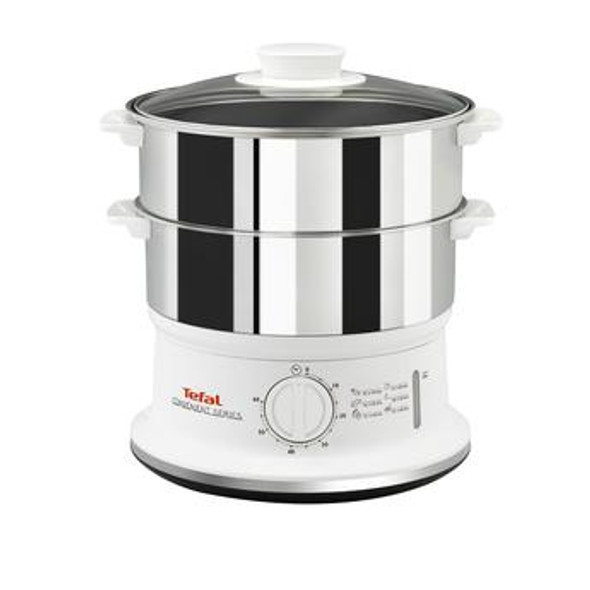 Tefal, VC145140, 900W 6L Steamer, Stainless Steel