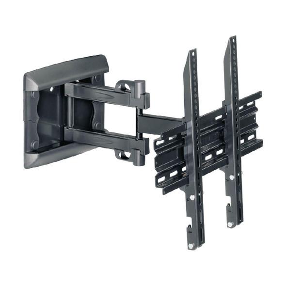 OMB, 06118, EasyThree 32-55 Inch - Max VESA 400 x 400 Double Arm Bracket, Black