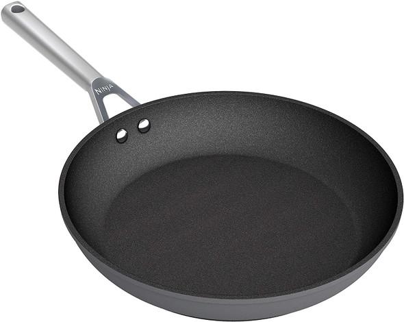 Ninja, C30024UK, Foodi ZEROSTICK 24cm Frying Pan, Black