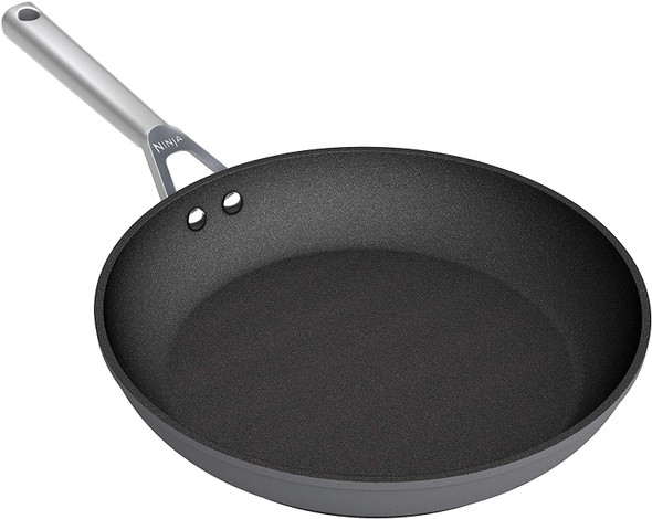Ninja, C30030UK, Foodi ZEROSTICK 30cm Frying Pan, Black