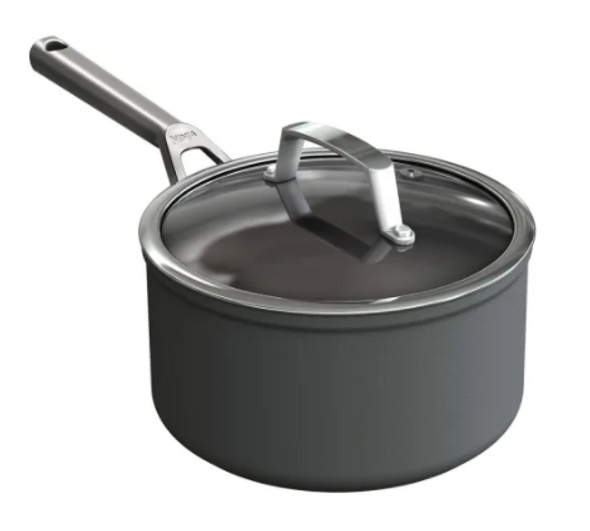Ninja, C30220UK, Foodi ZEROSTICK 20cm Saucepan With Lid, Black