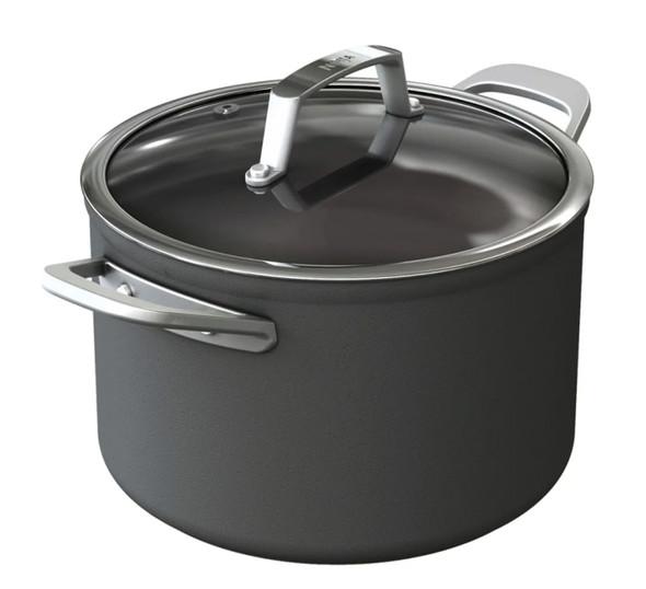 Ninja, C30422UK, Foodi ZEROSTICK 22cm Stock Pot With Lid, Black