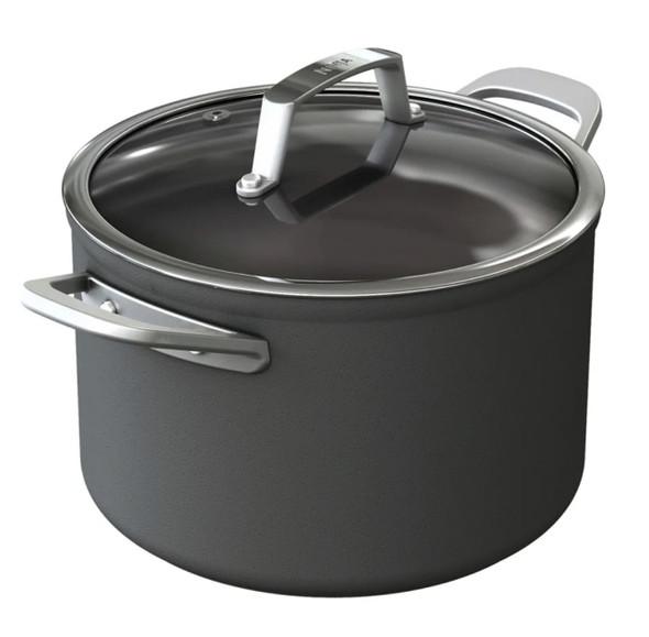 Ninja, C30426UK, Foodi ZEROSTICK 26cm Stock Pot With Lid, Black