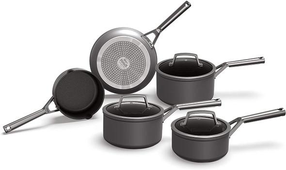 Ninja, C35000UK, Foodi ZEROSTICK 5-Piece Pan Set, Black