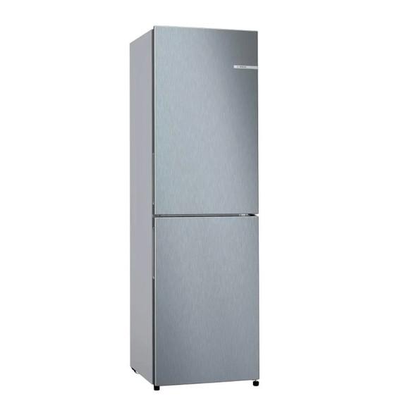 Bosch, KGN27NLFAG, Serie 2 255L Freestanding Fridge Freezer, Stainless Steel