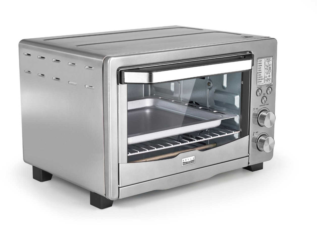 6-Slice Toaster Oven Air Frying Insignia Stainless
