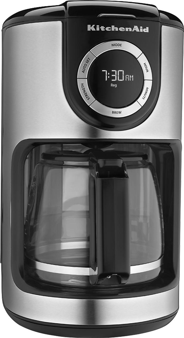 KitchenAid - KCM1202OB 12-Cup Coffee Maker - Onyx Black SKU 9610092