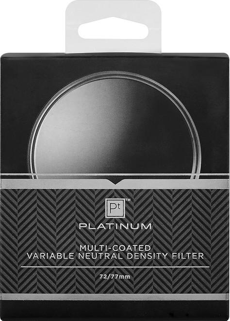 Platinum - 72mm and 77mm Variable Neutral Density (ND) Lens Filter