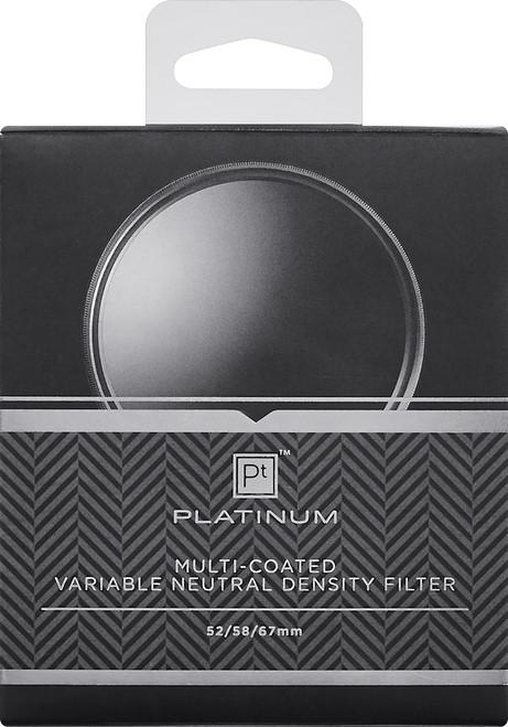 Platinum - 52mm, 58mm and 67mm Variable Neutral Density (ND) Lens Filter