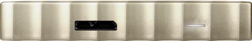 WD - My Passport Ultra 1TB External USB 3.0 Portable Hard Drive - White-gold