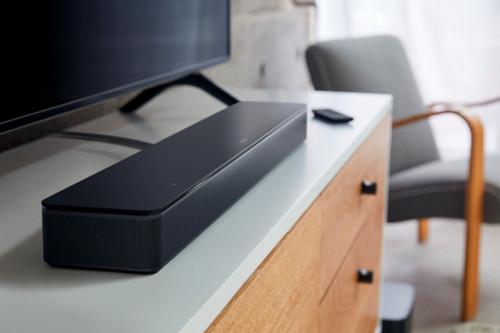 Bose - Smart Soundbar 300 - Voice Control with Bluetooth and Wi-Fi - Black