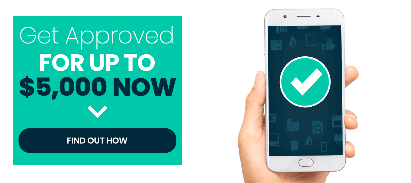 Get Approved For Up To $5,000 Now!