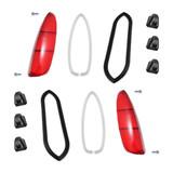 TYPE 3 RED FLAT TAIL LIGHT LENS & SEAL KIT