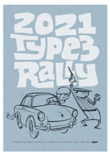 2021 TYPE 3 RALLY POSTER