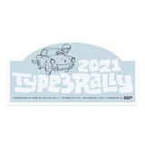 2021 TYPE 3 RALLY CAR MAGNET
