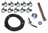 TYPE 3 FUEL LINE, CLAMP, & OUTLET KIT