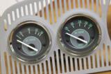 BEETLE MPH SPEEDO+GAS COMBO 4 GAUGE KIT - GREEN