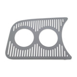 ACCESSORY GAUGE PANEL GRILL DUAL 52MM LEFT