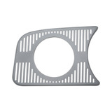 ACCESSORY GAUGE PANEL GRILL SINGLE 80MM LEFT