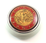 ST. CHRISTOPHER HORN BUTTON