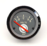 STOCK SERIES VOLT METER GAUGE - RED NEEDLE