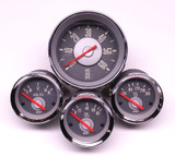 TYPE 3 TACH & GAUGE SET - RED NEEDLE