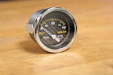 CARBON RACE VOLT METER GAUGE 52MM