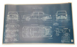 NOTCHBACK BLUEPRINT POSTER