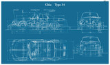 TYPE 34 BLUEPRINT POSTER