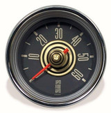 TYPE 34 TACHOMETER - GOLD/RED NEEDLE
