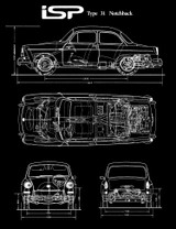 ISP NOTCHBACK BLUEPRINT SHIRT