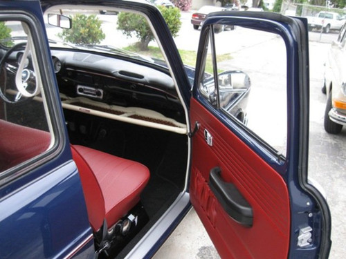 RED INTERIOR KIT - SQUAREBACK 1968-1972 - with SUNROOF