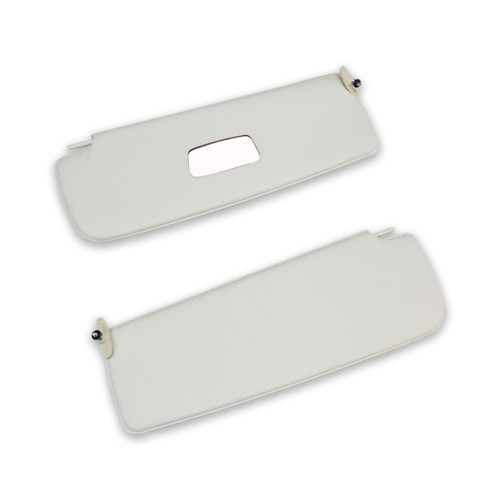 Type 3 Sun Visors with Mirror - Off White