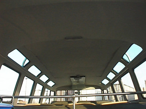 Bus 64-67 Headliner with Sliding Sunroof