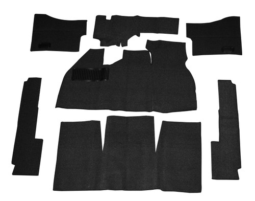 CARPET KIT,7PC 58-68 BLK