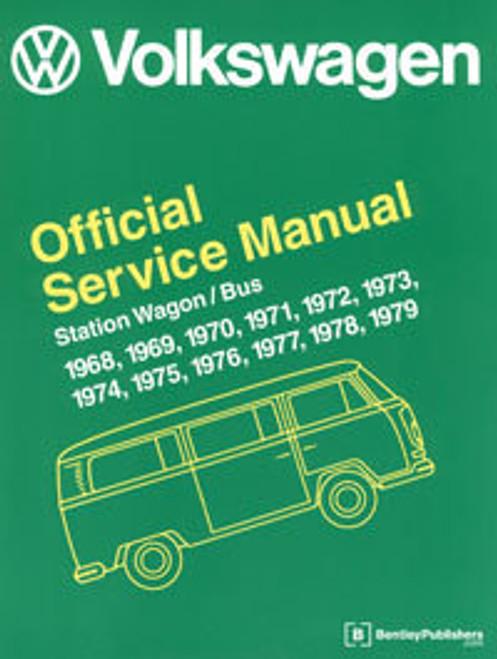 VW TECH BOOK 68-79 BUS