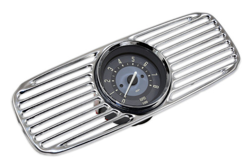 OVAL BEETLE ACCESSORY GRILL & TACH - BEIGE