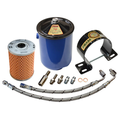 FLAT-4 FRAM F3-P STYLE OIL FILTER SYSTEM