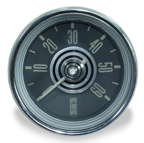 TYPE 34 TACHOMETER - SILVER/WHITE NEEDLE